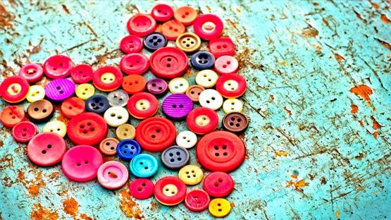 ¿Cuándo se empezaron a usar los botones?