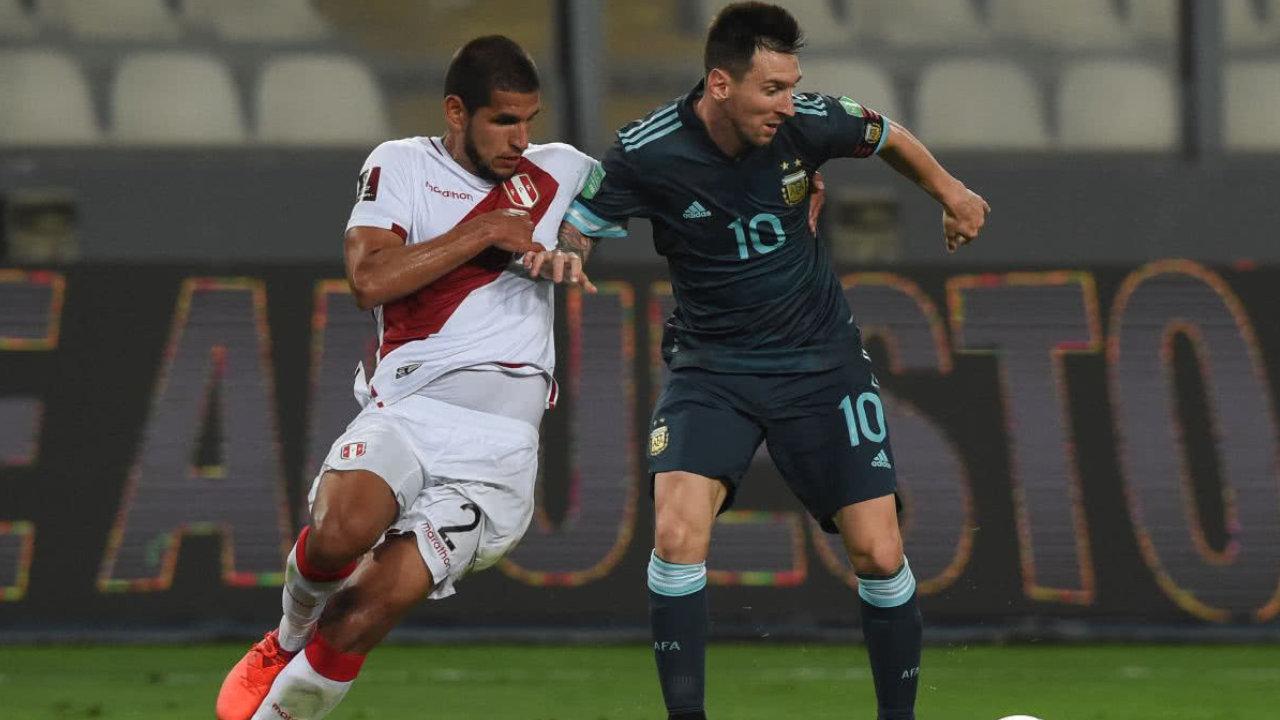 Argentina derrotó por 0-2 al local Perú