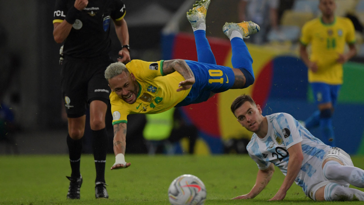 Lo Celso y Neymar